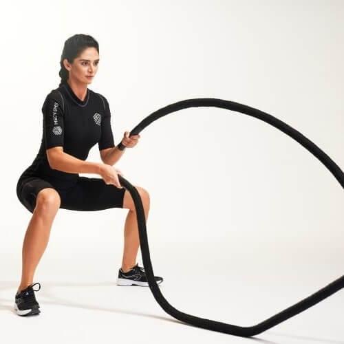 Jak dużo spalisz kalorii z treningiem EMS?